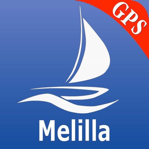 Melilla GPS Nautical Charts