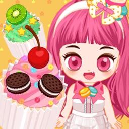 Cute Baker Cupcake