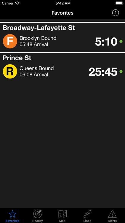 NextStop - NYC Subway screenshot-0