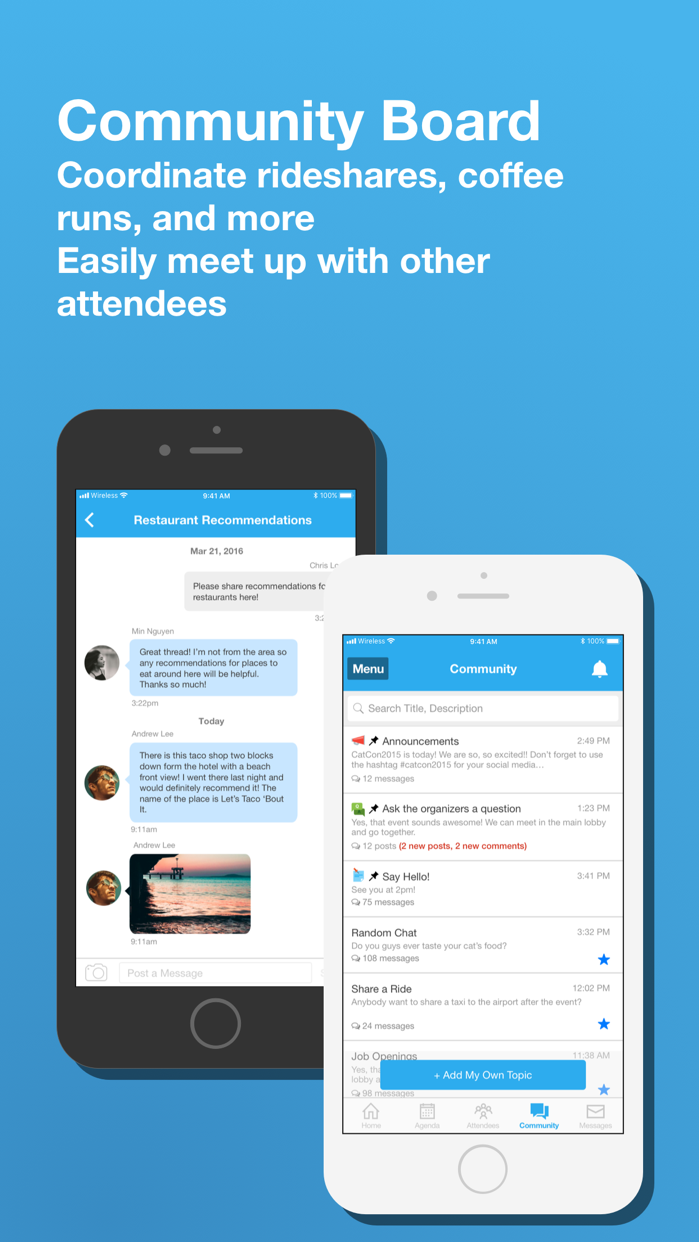 Whova - Event Guide+Networking Screenshot