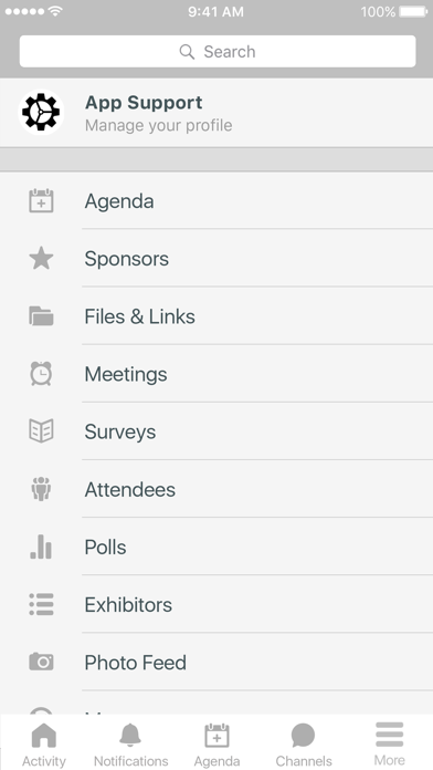 PEG Sponsored Events screenshot two