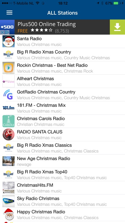 Christmas RADIO screenshot-1
