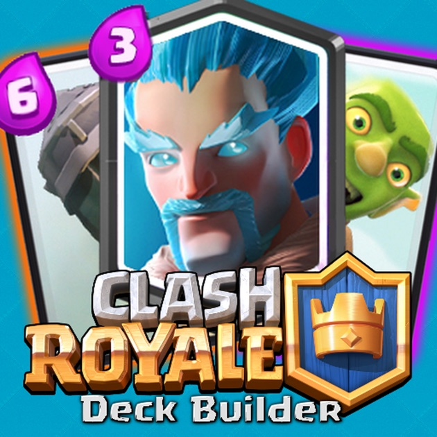 Deck builder for clash royale building guide on the app for Clash royale deck arc x