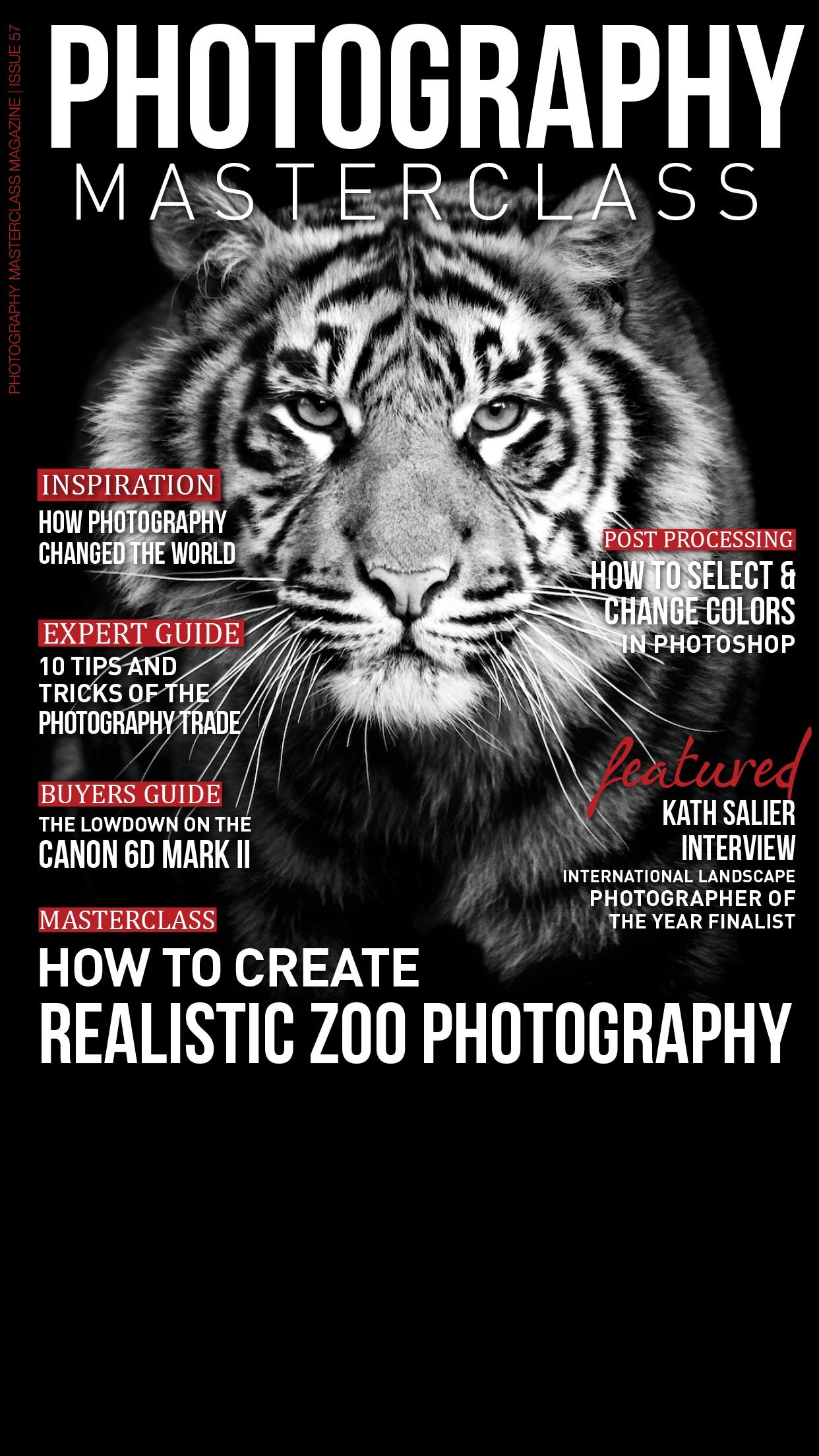 Photography Masterclass Magazine Screenshot