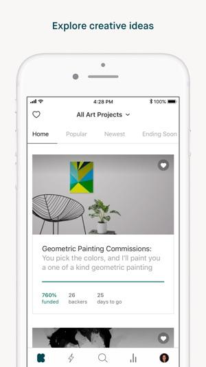 Kickstarter Screenshot