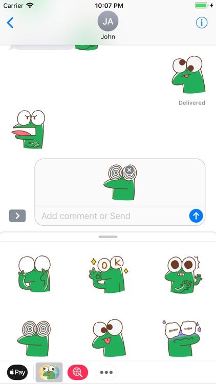 Lizard funny - Fx Sticker screenshot-3