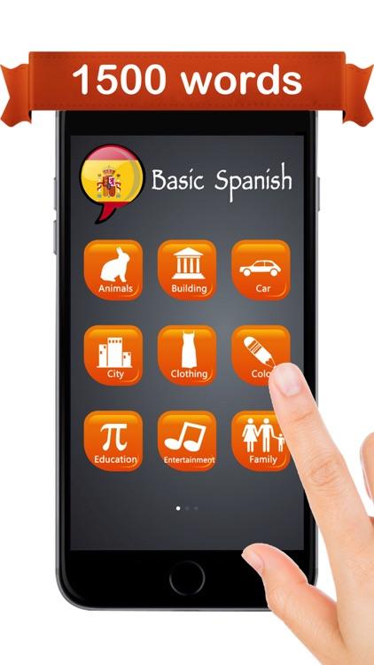 Learn Spanish ™ screenshot-4