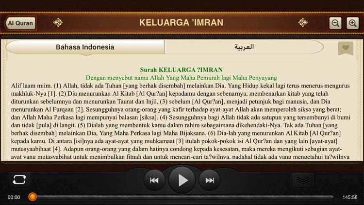 Al-Quran. 114 Surah. Indonesia screenshot-3