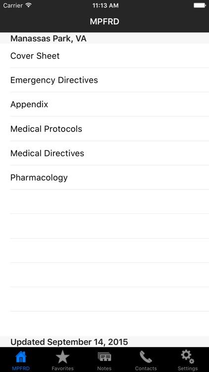 MPFRD EMS Protocols