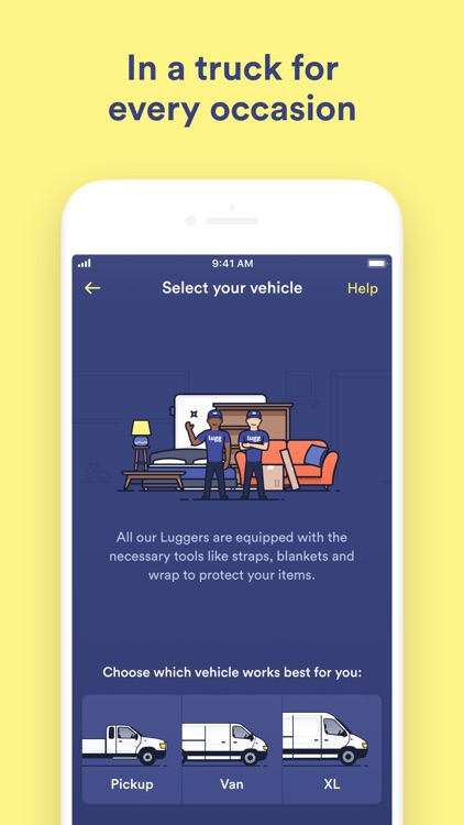 Lugg - Moving & Delivery