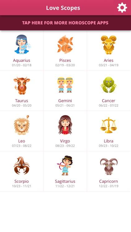 Love Horoscopes screenshot-4