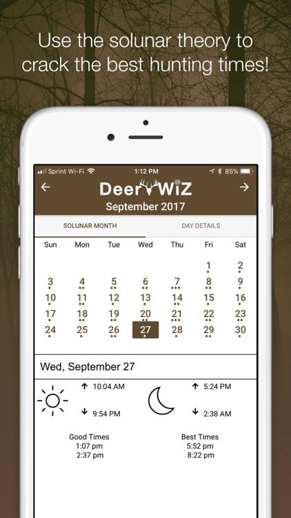 Deer Wiz: Hunting Predictions screenshot-3