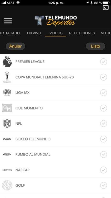 Telemundo Deportes - En Vivo screenshot-3