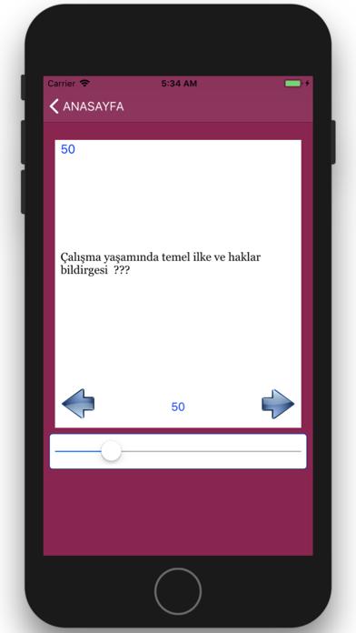 işyeri Hekimliği Sınavı screenshot four