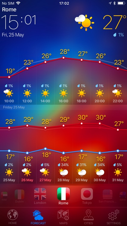 WEATHER NOW ° - radar & widget screenshot-3