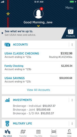 USAA Mobile on the App Store