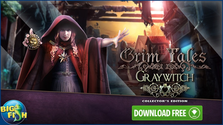Grim Tales: Graywitch - Hidden Objects screenshot-4