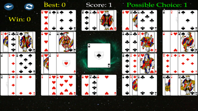 Black Hole Solitaire Premium screenshot one