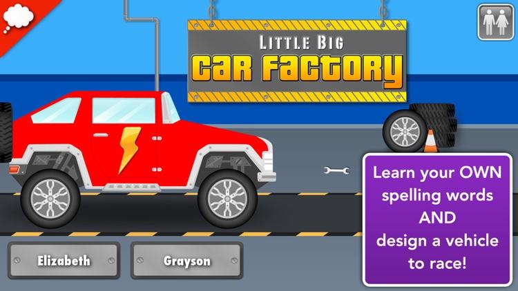 Car Factory: Spelling Game screenshot-0