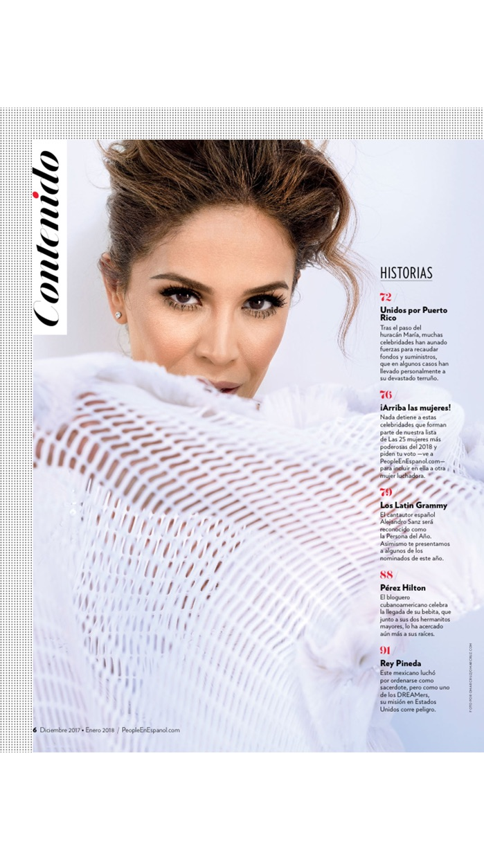 PEOPLE EN ESPAÑOL Magazine Screenshot