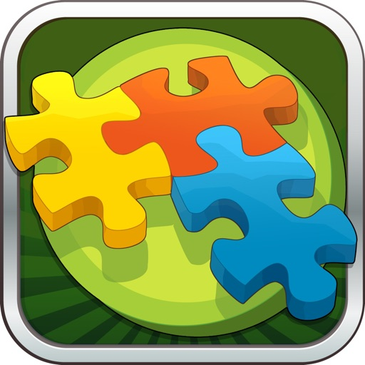 Kids adventure - Jigsaw puzzle icon
