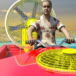 Granny Power Boat Racing Game