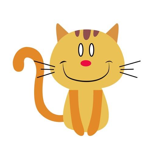 Lucky cat sticker for iMessage