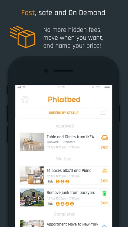 Phlatbed: Moving & Delivery