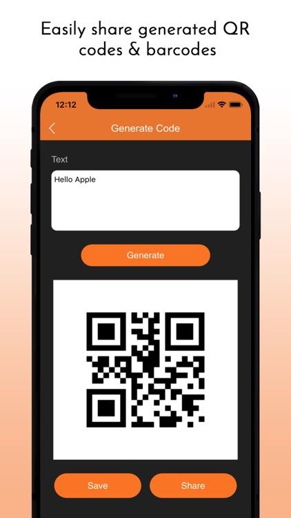 QR Barcode Scanner Generator