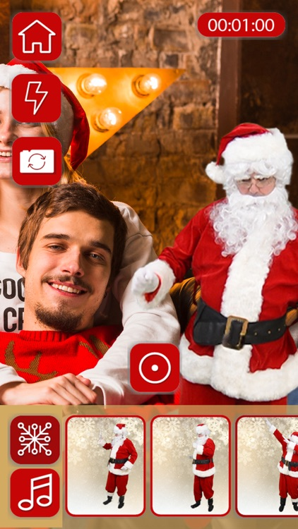 Make a video with Santa Claus