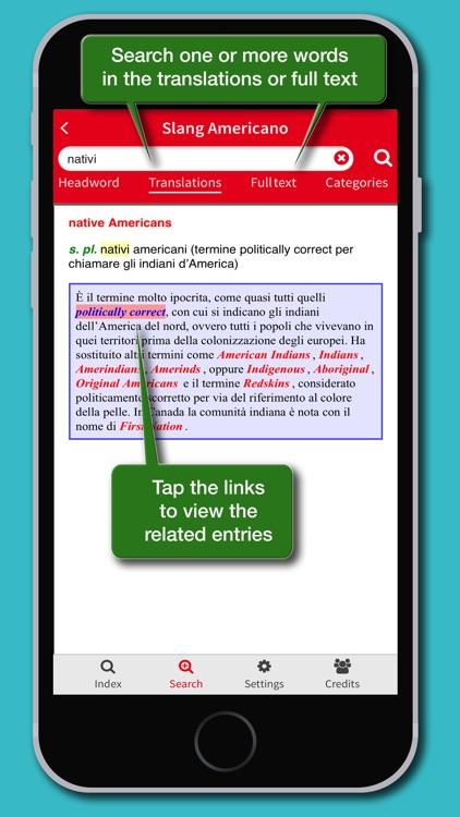 Dizionario Slang Americano screenshot-3