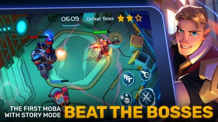 Planet of Heroes - Brawl MOBA screenshot-3
