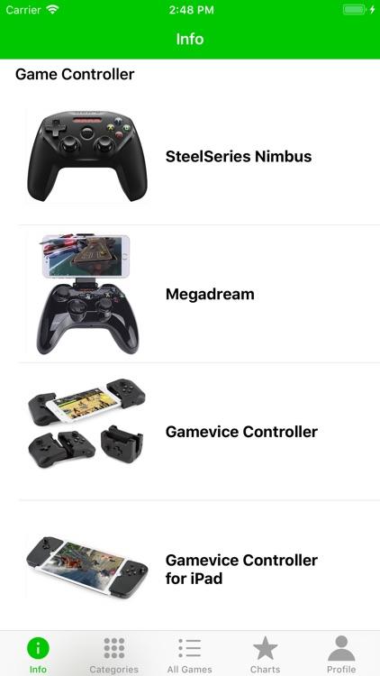 Game Controller Apps screenshot-4
