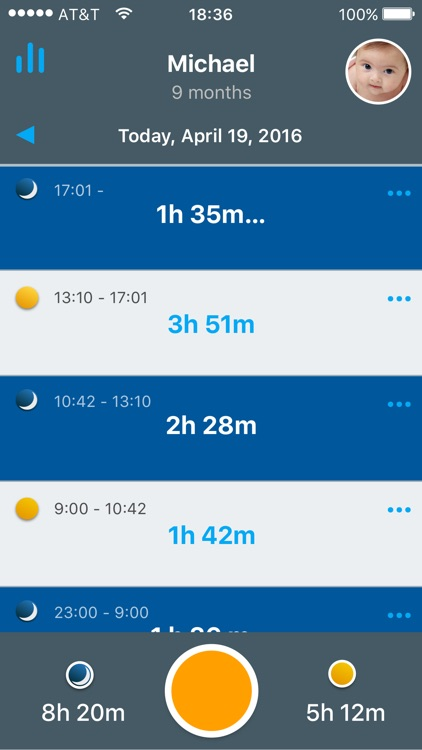 SleepBaby: Baby Sleep Timer screenshot-0