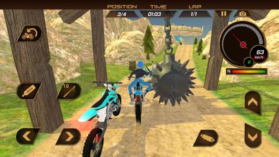 ダートバイクレーシング:トライアルエクストリームモトスタントライダーのおすすめ画像5
