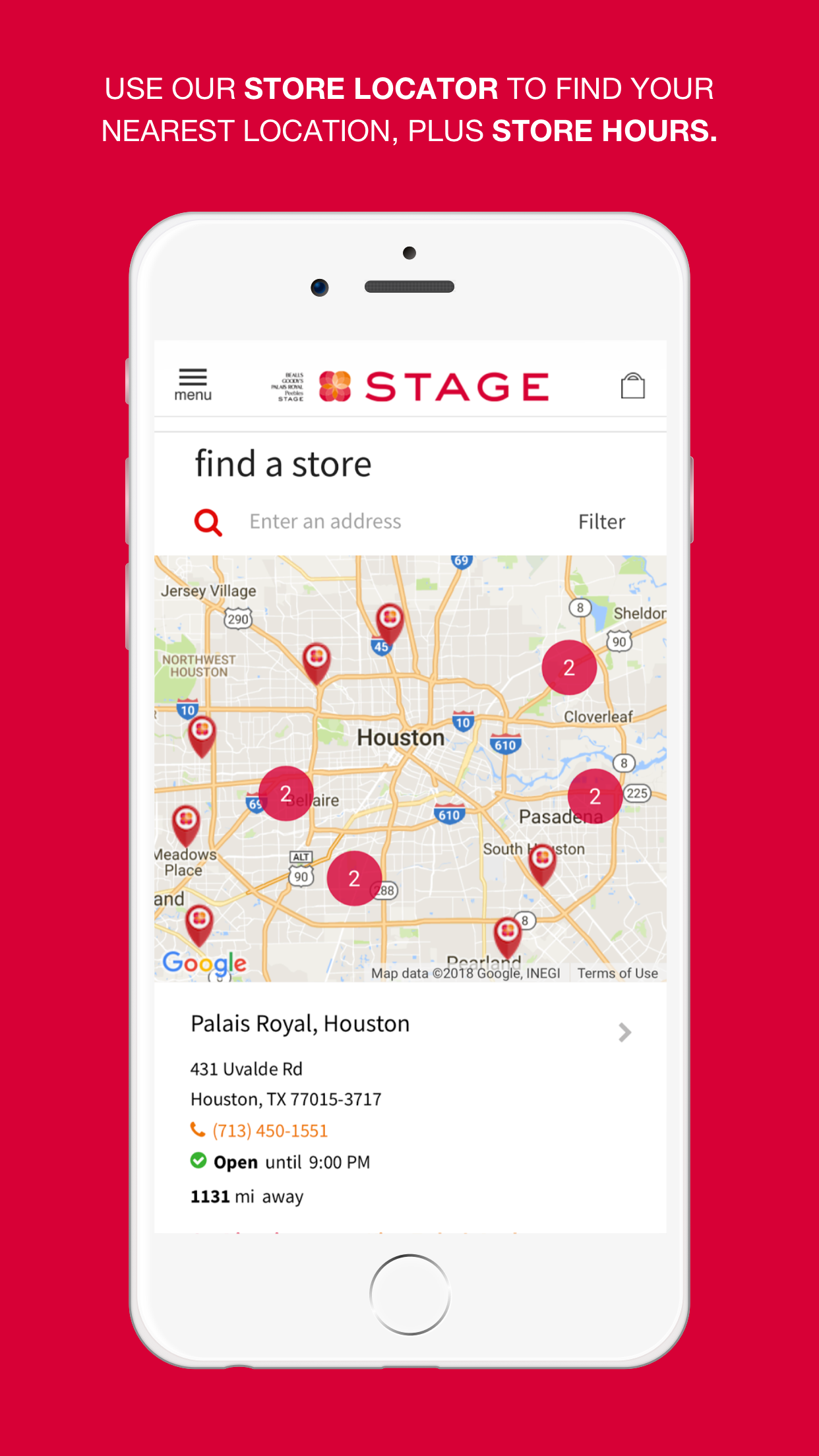 Stage Stores Screenshot