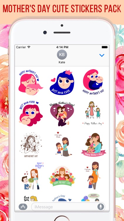 Mother's Day Stickers Pack