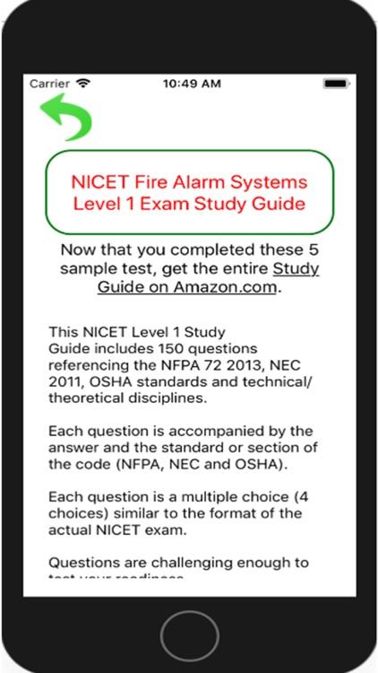 Fire Alarms Study Guide NICET screenshot-4