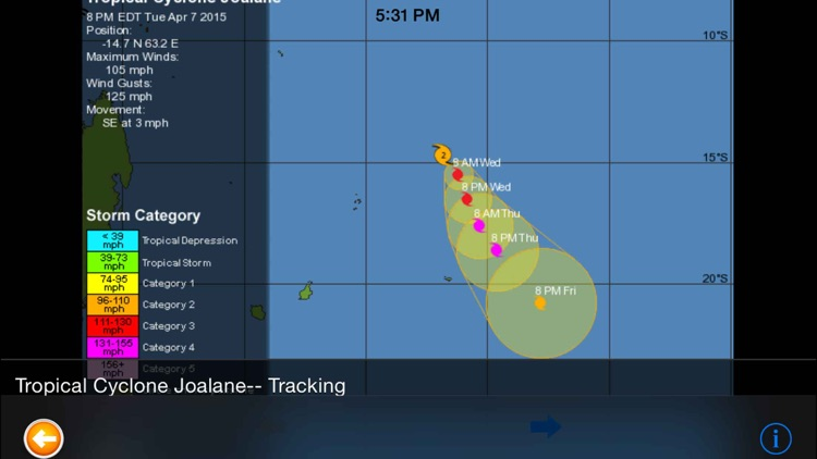 Hurricane Track & Outlook Pro screenshot-4