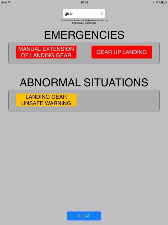 Aero Checklist screenshot-3