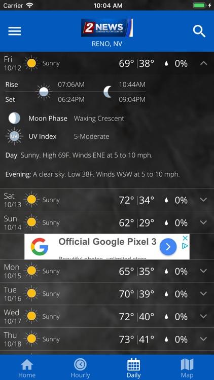 KTVN 2 News Weather App screenshot-4