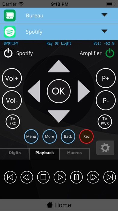 Myuremote Universal Remote App review screenshots