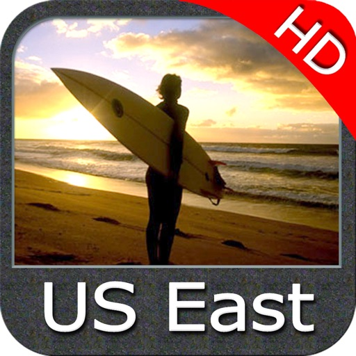 US East HD from Texas to Maine GPS chart navigator