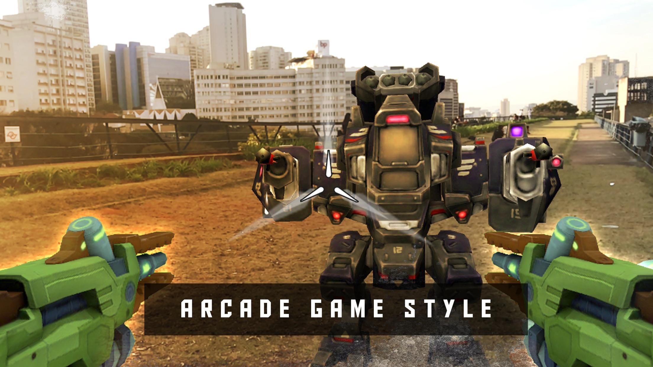 Screenshot do app Army of Robots