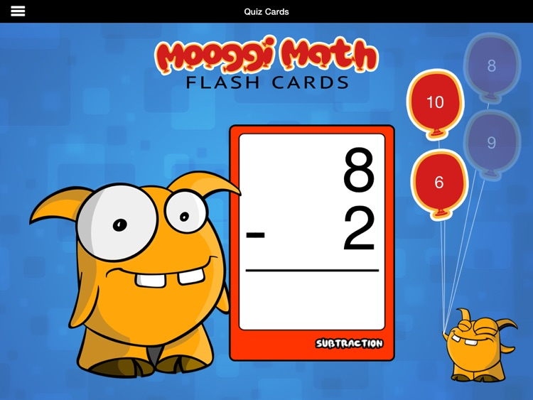 Mooggi Math Flash Cards HD screenshot-1