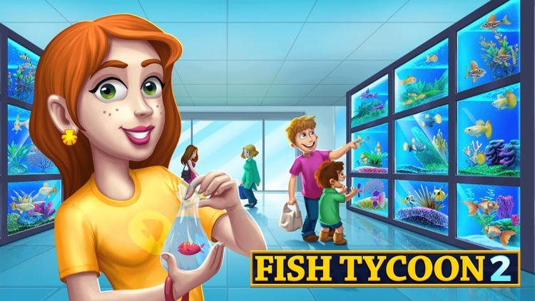 Fish Tycoon 2 Virtual Aquarium screenshot-4