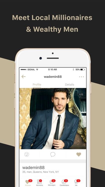 Millionaire Singles Match, Elite Online Dating App