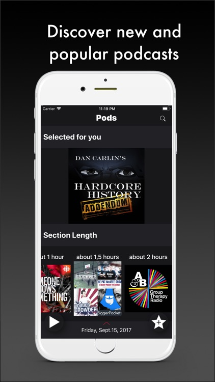 Pods - Podcast Player screenshot-0