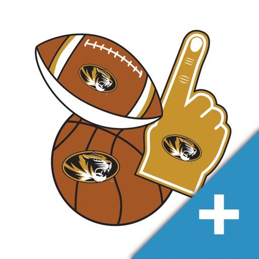 Missouri Tigers PLUS Selfie Stickers