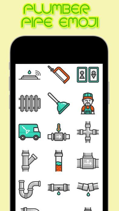 Plumber Pipe Emoji | Apps | 148Apps